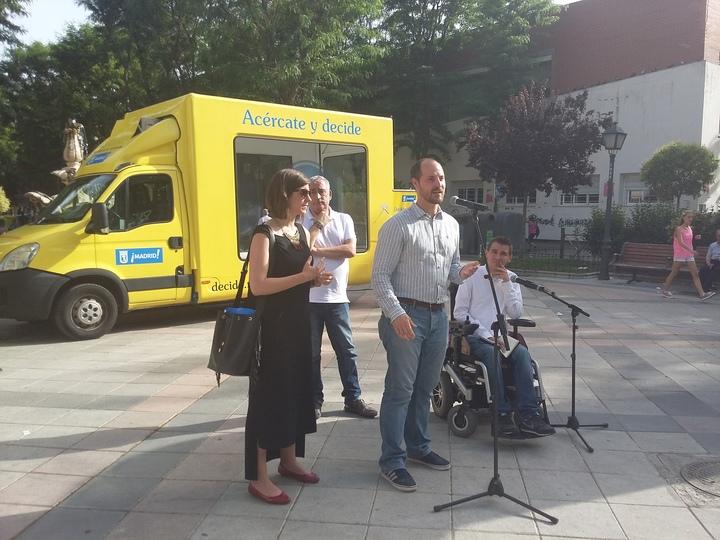 La caravana de presupuestos participativos visitará Moncloa-Aravaca