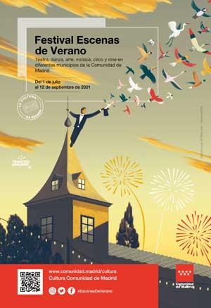 La Comunidad de Madrid propone 20 planes familiares para conocer la región con el Festival Escenas de Verano 2021