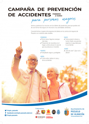 Campaña de prevención de accidentes en personas mayores