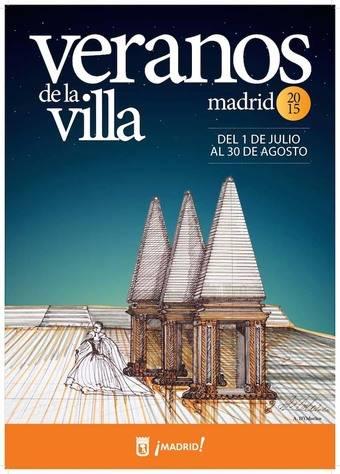 Cartel oficial de Veranos de la Villa 2015