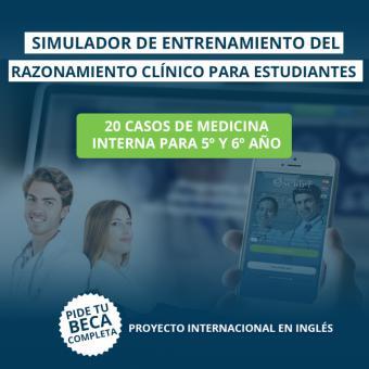 La Universidad Francisco de Vitoria (Madrid) implementa el simulador Practicum Script, un programa de entrenamiento del razonamiento clínico para estudiantes de Medicina