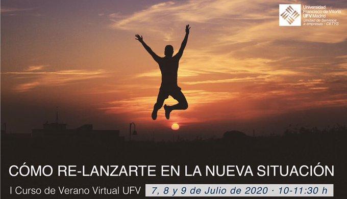 I Curso de Verano Virtual: 'Cómo relanzarte en la nueva situación'