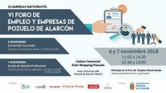 VI Foro de empleo y empresas 2018 Pozuelo de Alarcón