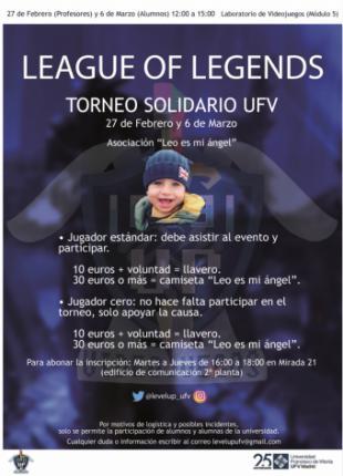 Los alumnos de la Universidad Francisco de Vitoria (Madrid) organizan un torneo benéfico de videojuegos para ayudar a Leo, un niño de 16 meses que padece el síndrome de Angelman