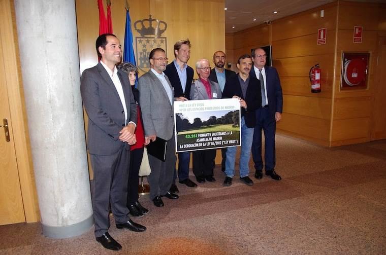 Más de 40.000 firmas para salvar el Monte de Pozuelo