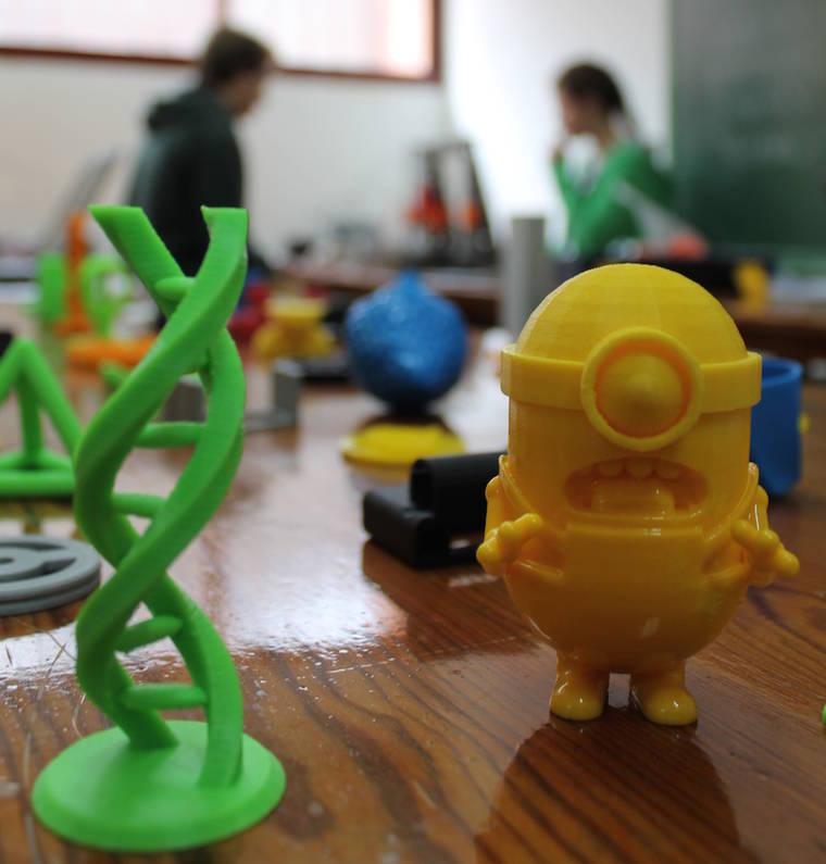 El primer club de impresión 3D está en Aravaca