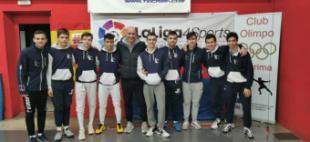 Tres medallas en los torneos regionales sub-17 y sub-20 para el Club Esgrima Pozuelo