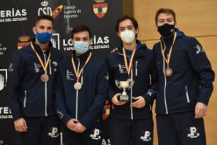 El Club Esgrima Pozuelo gana cuatro medallas en los Campeonatos de España 2019/2020