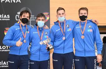 El Club Esgrima Pozuelo gana dos medallas de bronce en el Campeonato de España sénior 2020/2021