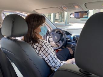 El Ayuntamiento de Pozuelo de Alarcón suma un nuevo coche eléctrico a la flota del parque móvil municipal