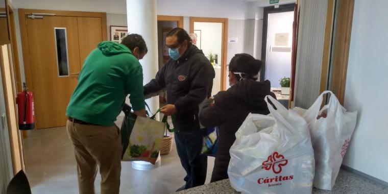 Aumentan las peticiones de ayuda a Cáritas Pozuelo-Aravaca por el coronavirus