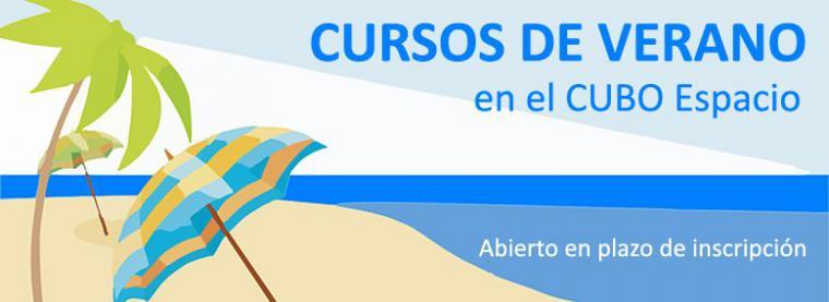 Apúntate a los cursos de verano de Juventud del CUBO Espacio Joven