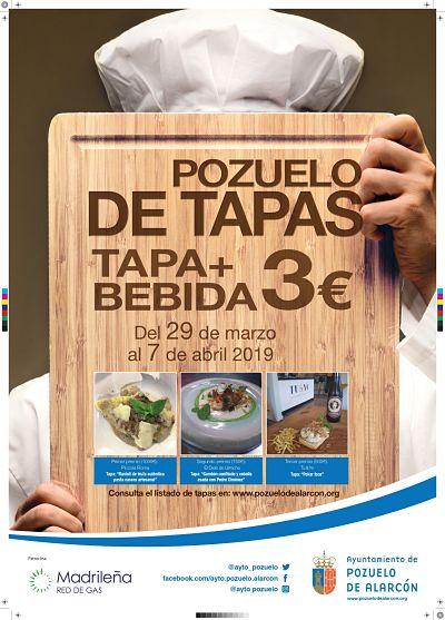 Pozuelo acoge una nueva edición de las Jornadas Gastronómicas Pozuelo de Tapas