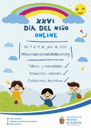 El Ayuntamiento de Pozuelo organiza el Día del Niño on line con talleres y manualidades, actuaciones culturales y exhibiciones deportivas