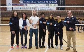 Los deportistas de Pozuelo también dicen 'NO' a la violencia de género