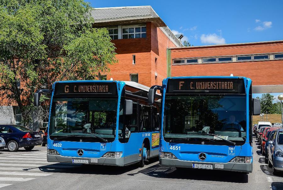 L�neas universitarias de la Empresa Municipal de Transportes de Madrid