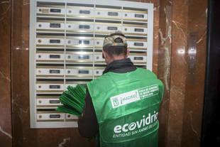 Campaña de reciclaje de vidrio en Madrid