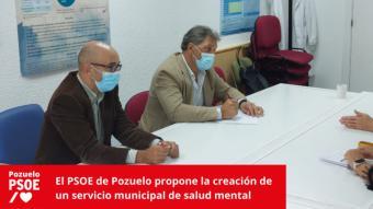 El PSOE de Pozuelo propone la creación de un servicio municipal de salud mental