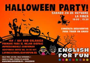 English for Fun Halloween Party en Pozuelo de Alarcón