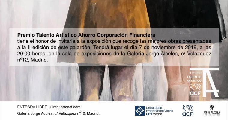 El ganador del II Premio Talento Artístico ACF se decide este jueves