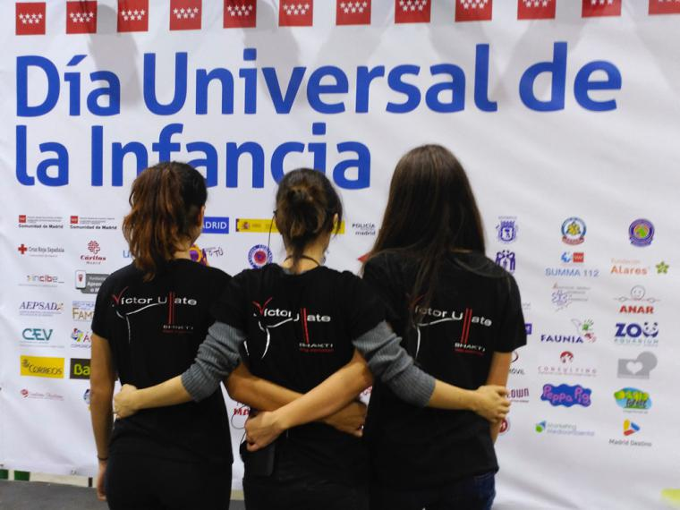 La Escuela Víctor Ullate participa en la celebración del Día Universal de la Infancia
