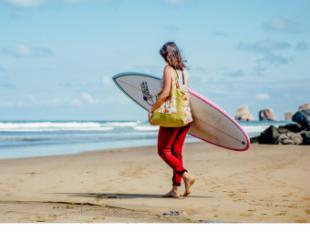 Hendaya, la mayor cicloruta de Europa y uno de los mejores spots de surf del Sur de Francia