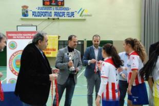 La Comunidad apoya el fútbol sala femenino en la final del Trofeo Comunidad de Madrid
