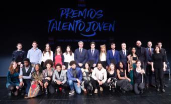 La Comunidad premia la trayectoria de cinco valores madrileños en los IV Premios Talento Joven-Carné Joven