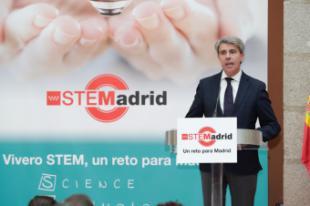 Garrido anuncia más recursos para centros educativos que fomenten vocaciones científicas y tecnológicas