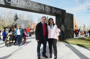 Inaugurado el nuevo parque deportivo y de ocio Carlos Sainz