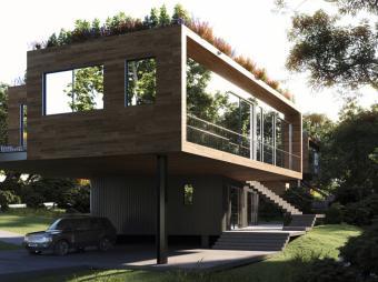 Las casas prefabricadas y autosufucientes prometen ser las nuevas mansiones de lujo