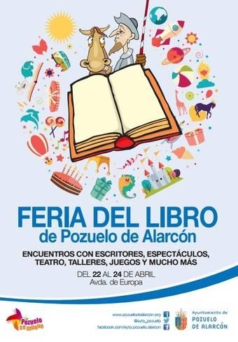 Cartel de una de las últimas ediciones de la Feria del Libro de Pozuelo