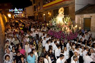Rouco Varela en las Fiestas del Carmen de Pozuelo