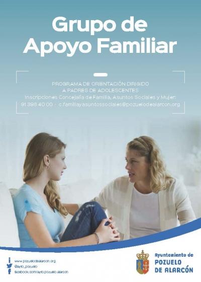 Grupo de Apoyo familiar para familias con hijos adolescentes