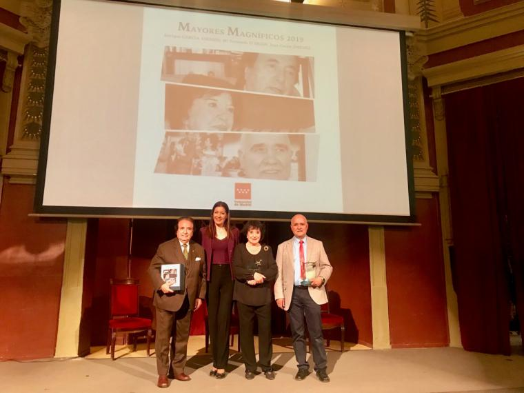 La Comunidad celebra una nueva edición de los premios Mayores Magníficos
