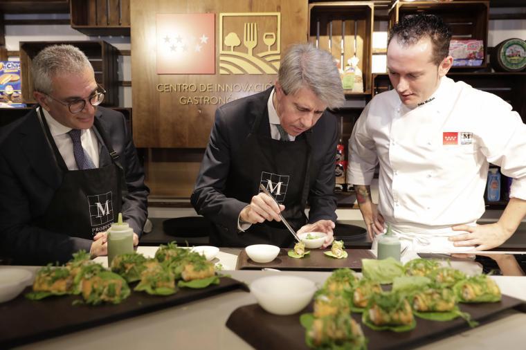 Garrido inaugura el Centro de Innovación Gastronómica de la Comunidad de Madrid