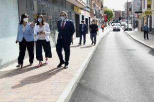 El centro de Pozuelo de Alarcón luce nueva imagen tras las obras de mejora en las calles Sagunto y su entorno