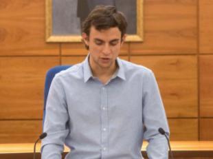 PP y VOX acuerdan censurar al concejal Unai Sanz para que no pueda preguntar en el Pleno