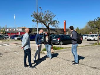 El PSOE-MONCLOA no comprende que el Ayuntamiento no de información a los vecinos sobre el estudio de movilidad, para construir un macroparking rodeado de edificios residenciales en la estación de Aravaca.