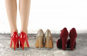 ¿Tacones o zapatos planos?