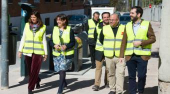 Avanzan a buen ritmo las obras de mejora en el entorno de la calle Sagunto y del barrio de los Horcajos de Pozuelo