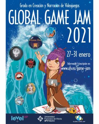 La Universidad Francisco de Vitoria (Madrid) repite como sede del concurso internacional de creación de videojuegos más relevante, la Global Game Jam