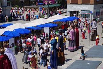Este fin de semana se celebra la 4ª Fiesta del Comercio y Ocio en la Plaza del Padre Vallet