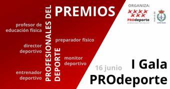 Los profesionales del deporte ya se pueden presentar a los premios de la I Gala PROdeporte