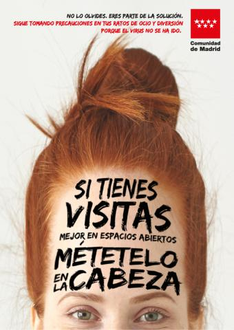 La Comunidad de Madrid difunde una campaña para concienciar a los jóvenes sobre un ocio responsable en verano y evitar la transmisión del COVID-19