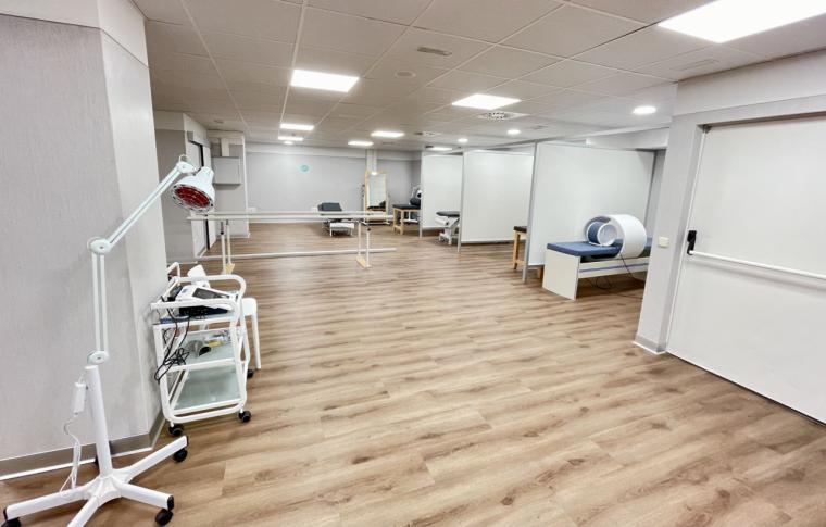El Hospital HLA Moncloa incorpora un nuevo gimnasio de rehabilitación