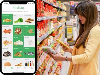 Se lanza la primera app para facilitar las compras a personas con sensibilidades alimentarias