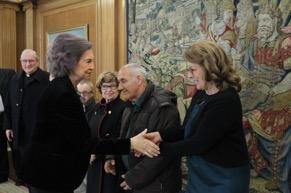 La Reina Doña Sofía concedió una Audiencia al Hogar Don Orione