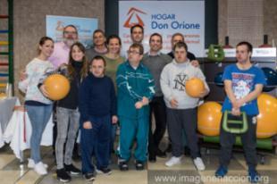 El Hogar Don Orione recibe una donación del Fitness Sports Valle de las Cañas en material por valor de 10.000 euros