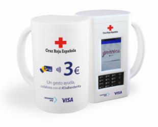 Pozuelo celebra el Día de la Banderita de la Cruz Roja Española y permite por primera vez los donativos contactless gracias a las huchas desarrolladas por Visa y UniversalPay
